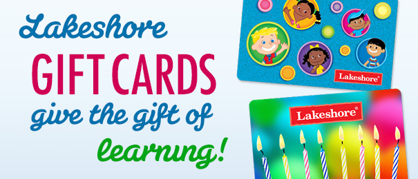 gift cards lakeshore learning materials